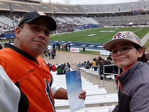 Jason attended 2017 Zaxby's Heart of Dallas Bowl - West Virginia Mountaineers vs. Utah Utes - NCAA Football on Dec 26th 2017 via VetTix