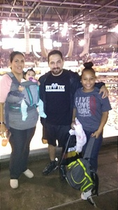 John attended Phoenix Suns vs. New Orleans Pelicans - NBA on Nov 24th 2017 via VetTix