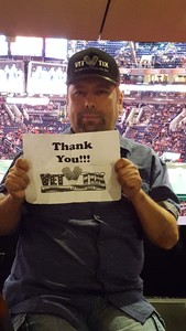 Jesus attended Phoenix Suns vs. New Orleans Pelicans - NBA on Nov 24th 2017 via VetTix
