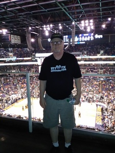 David attended Phoenix Suns vs. New Orleans Pelicans - NBA on Nov 24th 2017 via VetTix