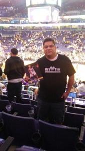 Pedro attended Phoenix Suns vs. Los Angeles Lakers - NBA on Nov 13th 2017 via VetTix