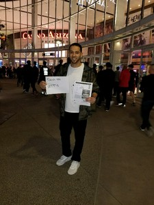 Dillon attended Phoenix Suns vs. Houston Rockets - NBA on Nov 16th 2017 via VetTix