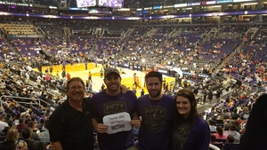 Michael attended Phoenix Suns vs. Houston Rockets - NBA on Nov 16th 2017 via VetTix