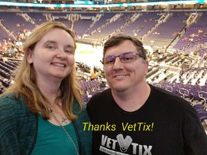 John attended Phoenix Suns vs. Houston Rockets - NBA on Nov 16th 2017 via VetTix