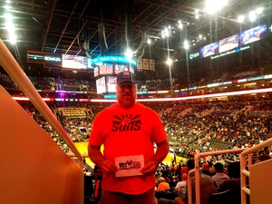 Don attended Phoenix Suns vs. Houston Rockets - NBA on Nov 16th 2017 via VetTix
