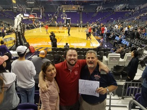Ronald attended Phoenix Suns vs. Houston Rockets - NBA on Nov 16th 2017 via VetTix