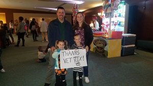 Dustin Fox attended Sesame Street Live - Let's Party - Sunday 6pm on Nov 19th 2017 via VetTix