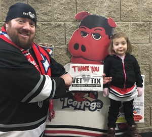 Click To Read More Feedback from Rockford Icehogs vs. Milwaukee Admirals - AHL