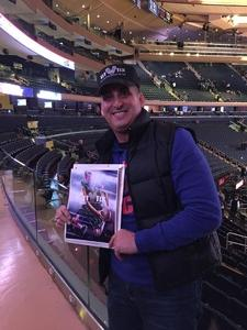 Robinson attended New York Knicks vs. Sacramento Kings - NBA on Nov 11th 2017 via VetTix