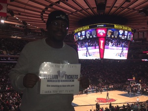 Anthony attended New York Knicks vs. Sacramento Kings - NBA on Nov 11th 2017 via VetTix