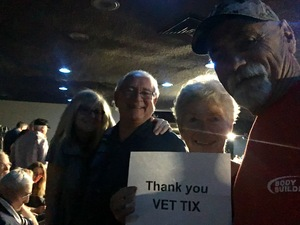 Al attended 1964 the Tribute - Beatles Tribute on Nov 17th 2017 via VetTix