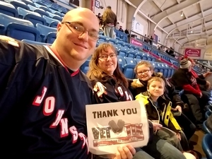 Click To Read More Feedback from Johnstown Tomahawks vs. New Jersey Titans - NAHL