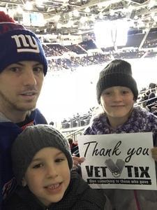 Shane attended Rochester Americans vs. Hartford Wolf Pack - AHL on Dec 1st 2017 via VetTix