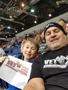 Frank attended Rochester Americans vs. Laval Rocket - AHL on Dec 30th 2017 via VetTix