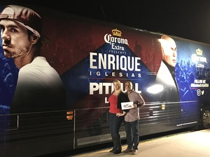 Click To Read More Feedback from Enrique Iglesias & Pitbull - Live