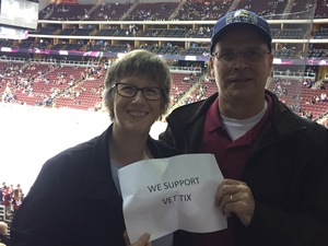 Mark attended Arizona Coyotes vs. Los Angeles Kings - NHL on Nov 24th 2017 via VetTix