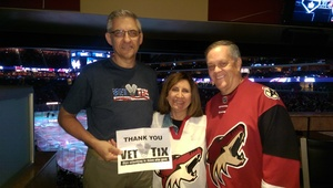 Rich attended Arizona Coyotes vs. Los Angeles Kings - NHL on Nov 24th 2017 via VetTix