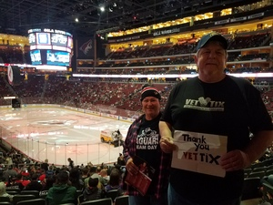 jerry attended Arizona Coyotes vs. Los Angeles Kings - NHL on Nov 24th 2017 via VetTix