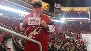 Noel attended Arizona Coyotes vs. Los Angeles Kings - NHL on Nov 24th 2017 via VetTix