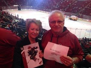 Alan attended Arizona Coyotes vs. Los Angeles Kings - NHL on Nov 24th 2017 via VetTix