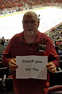 Dennis attended Arizona Coyotes vs. Los Angeles Kings - NHL on Nov 24th 2017 via VetTix