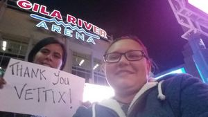 Alissa attended Arizona Coyotes vs. Los Angeles Kings - NHL on Nov 24th 2017 via VetTix