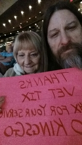 Todd attended Arizona Coyotes vs. Los Angeles Kings - NHL on Nov 24th 2017 via VetTix