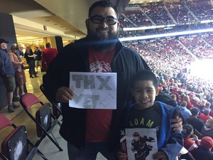 Daniel attended Arizona Coyotes vs. Los Angeles Kings - NHL on Nov 24th 2017 via VetTix