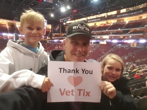 Chief66 attended Arizona Coyotes vs. Los Angeles Kings - NHL on Nov 24th 2017 via VetTix