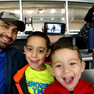 Brett attended Lone Star Brahmas vs. Odessa Jackalopes - NAHL - on Dec 1st 2017 via VetTix