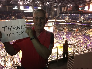 Edwin attended Phoenix Suns vs. Milwaukee Bucks on Nov 22nd 2017 via VetTix