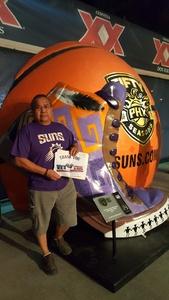 Wil attended Phoenix Suns vs. Milwaukee Bucks on Nov 22nd 2017 via VetTix