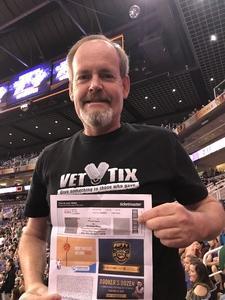 David attended Phoenix Suns vs. Milwaukee Bucks on Nov 22nd 2017 via VetTix