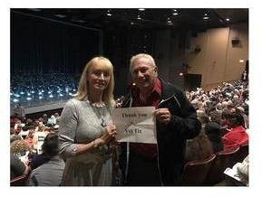 David attended The Donna Summer Musical on Dec 3rd 2017 via VetTix