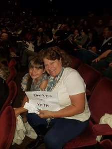 Tammy attended The Donna Summer Musical on Dec 3rd 2017 via VetTix