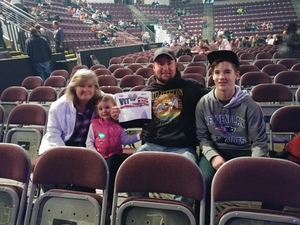 Ray attended Trans-siberian Orchestra - Winter Tour 2017: the Ghosts of Christmas Eve on Nov 19th 2017 via VetTix