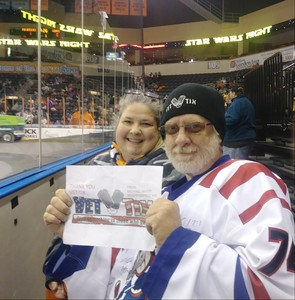 Michael W. attended Kansas City Mavericks vs. Kalamazoo Wings - ECHL on Nov 29th 2017 via VetTix