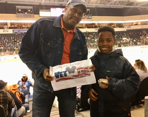 Logan attended Kansas City Mavericks vs. Kalamazoo Wings - ECHL on Nov 29th 2017 via VetTix
