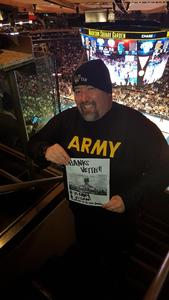 Victor attended New York Knicks vs. LA Clippers - NBA on Nov 20th 2017 via VetTix