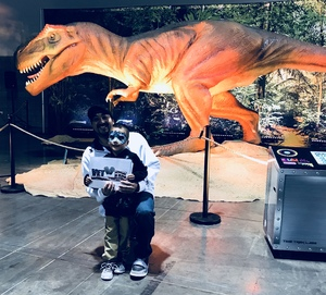 Juan attended Dinosaur Time Trek - Presented by Vstar Entertainment on Dec 3rd 2017 via VetTix