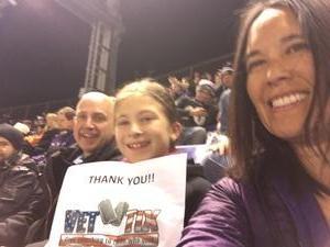 Michele attended Baltimore Ravens vs. Houston Texans - NFL - Monday Night Football on Nov 27th 2017 via VetTix