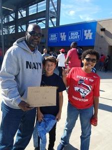 Click To Read More Feedback from University of Houston vs. Navy - NCAA Football