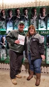 Dave attended Michigan State vs. Michigan - NCAA Hockey on Feb 9th 2018 via VetTix