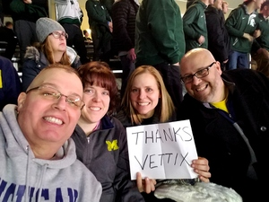 Garrett attended Michigan State vs. Michigan - NCAA Hockey on Feb 9th 2018 via VetTix