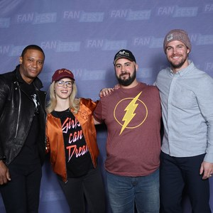 Stephen attended Heroes and Villains Fan Fest on Apr 7th 2018 via VetTix