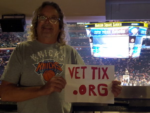 Edward attended New York Knicks vs. Orlando Magic - NBA on Dec 3rd 2017 via VetTix