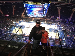 Robert attended New York Knicks vs. Orlando Magic - NBA on Dec 3rd 2017 via VetTix