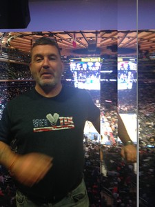 Anthony attended New York Knicks vs. Orlando Magic - NBA on Dec 3rd 2017 via VetTix