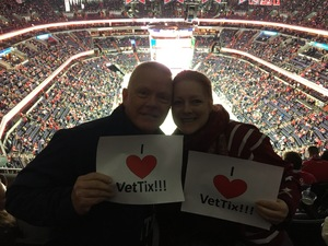Sheryl attended Washington Capitals vs. Los Angeles Kings on Nov 30th 2017 via VetTix