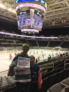 Click To Read More Feedback from San Jose Barracuda vs. Stockton Heat - AHL